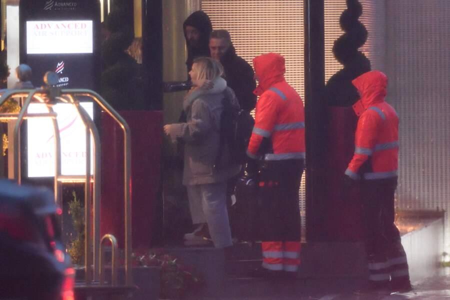 La famille de Johnny Hallyday décolle du Bourget le 10 décembre direction St Barth