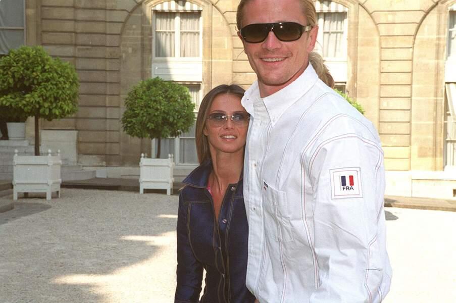Emmanuel Petit et son ex-femme Agathe de la Fontaine