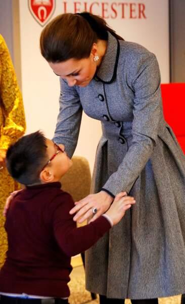 Kate Middleton très engagée dans l'éducation