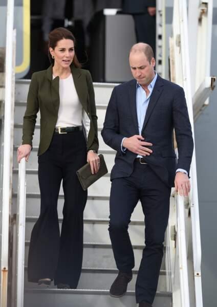 La duchesse de Cambridge a surpris avec un look inhabituel, très tendance