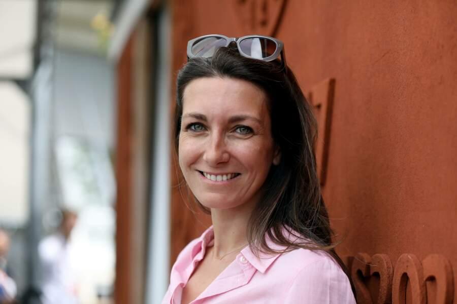Anne-Claire Coudray au village  Roland Garros