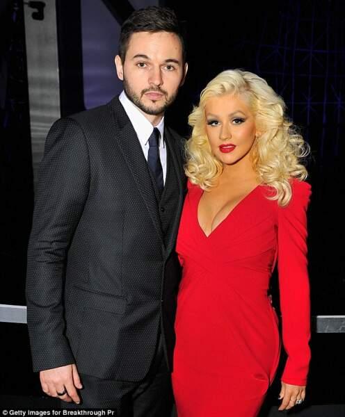 Christina Aguilera et Matt Rutler