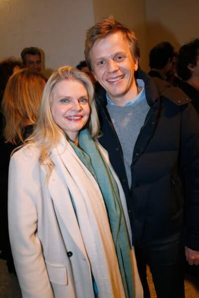 Isabelle Nanty et Alex Lutz