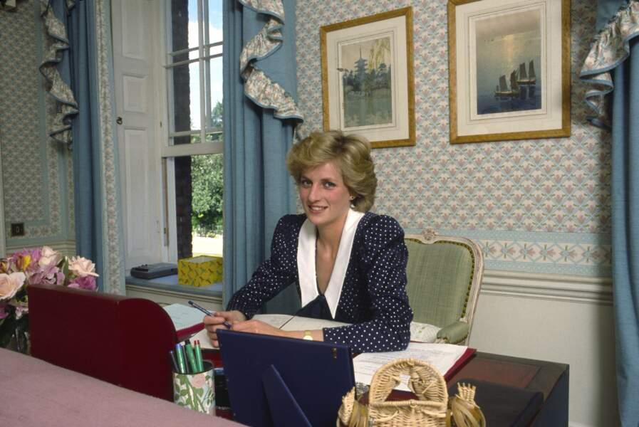 Diana y résidera principalement jusqu'à sa mort, en 1997