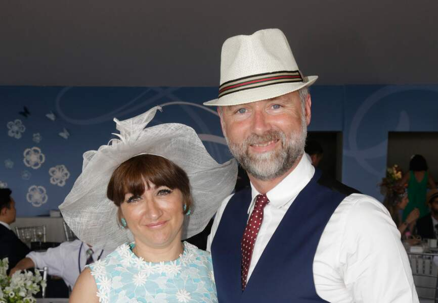 Darren Tulett et sa femme