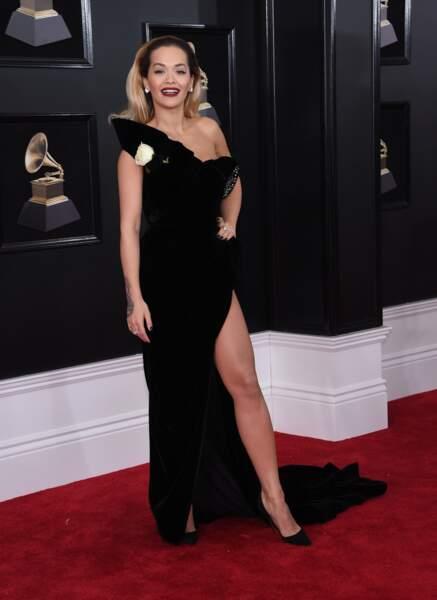 Rita Ora à la 60ème soirée annuelle des Grammy Awards