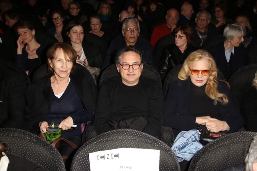 Nathalie Baye, Thierry Klifa et Sylvie Vartan à Paris