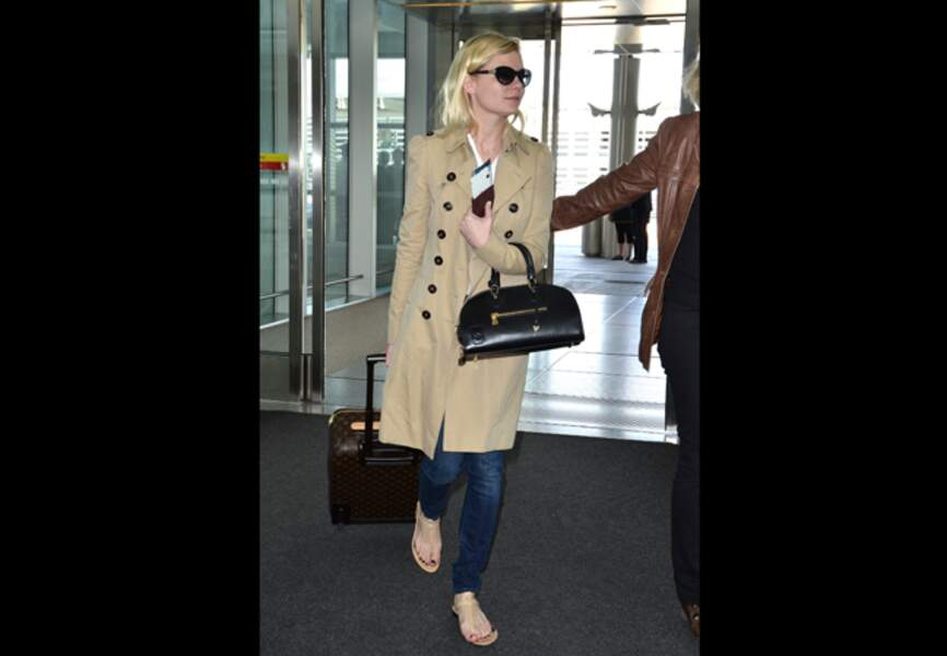 Kirsten Dunst dans sa version classique beige