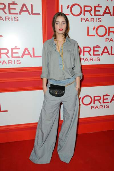 Marie-Ange Casta à Paris Fashion Week - L'Oreal Red Obsession Party