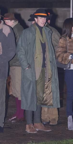 Le prince Joachim du Danemark (novembre 2015).