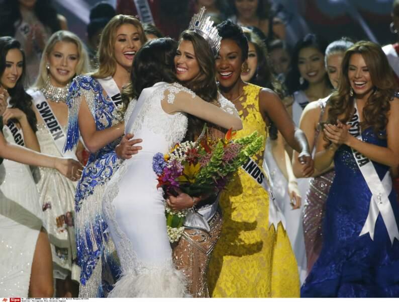 Iris Mittenaere sacrée Miss Univers