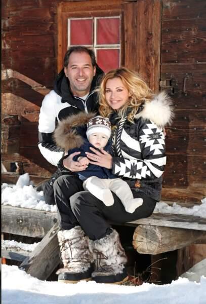 Ingrid, Thierry et Tom ont fêté Noël à Serre-Chevalier, dans les Hautes Alpes