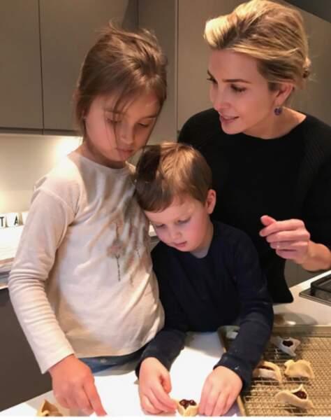 Ivanka Trump et ses enfants, Arabella Rose et Joseph Frederick