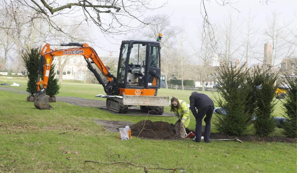 Le Kensington Palace en chantier!