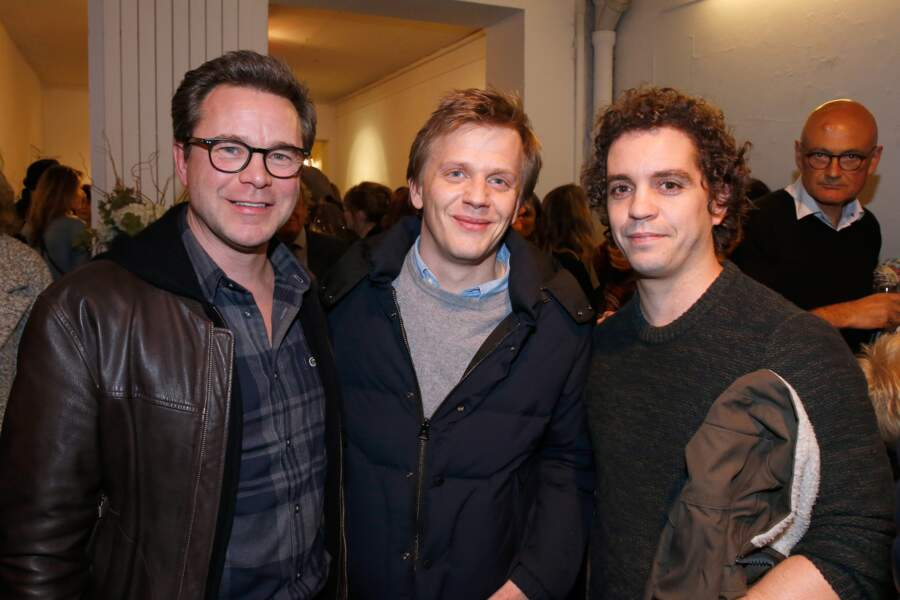Guillaume de Tonquédec, Alex Lutz et Bruno Sanches