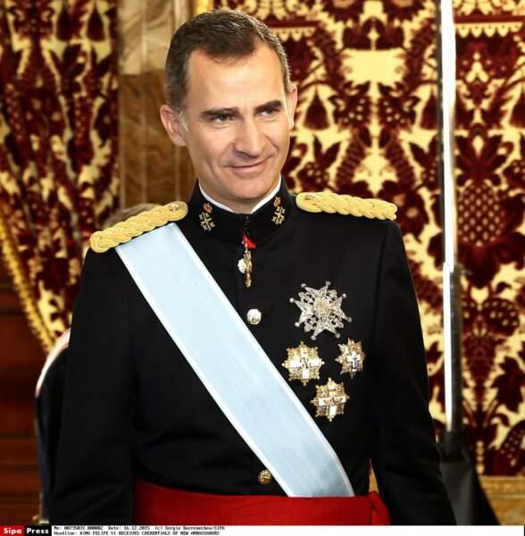 Le 20 juin Felipe VI d'Espagne fêtait sa première année à la tête de la monarchie