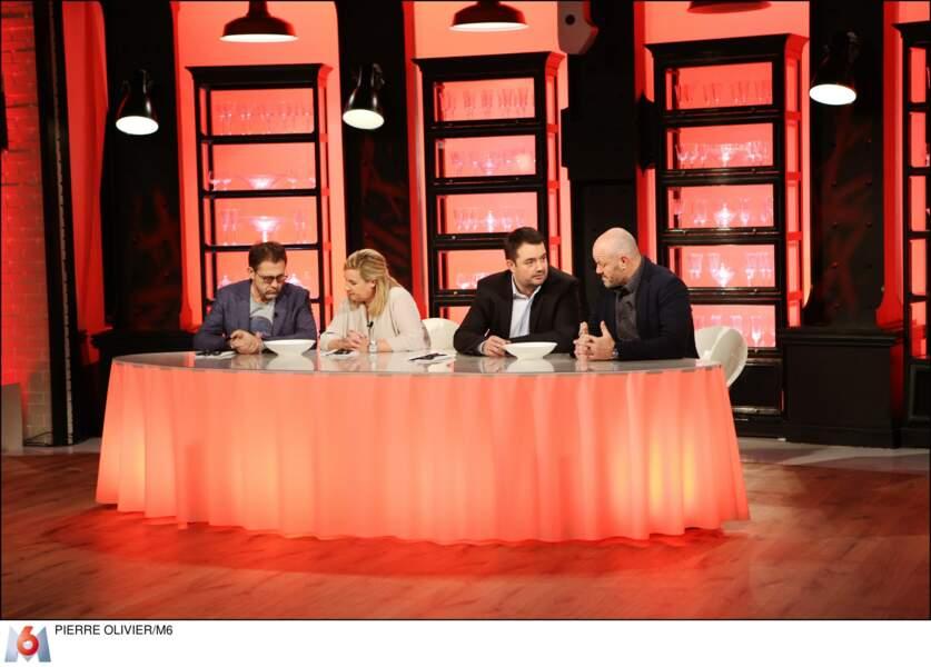 Michel Sarran, Hélène Darroze, Jean-François Piège et Philippe Etchebest