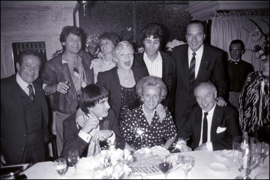 Jacques et Bernadette Chirac