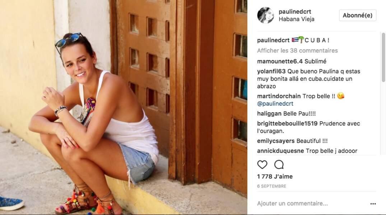 PAULINE DUCRUET, LA FILLE DE LA PRINCESSE STEPHANIE, son look stylé à Cuba