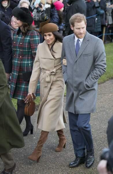 Kate, Meghan et Harry