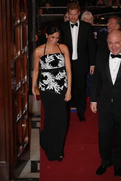 Le duc et la duchesse de Sussex ont assisté à l'émission The Royal Variety Performance.