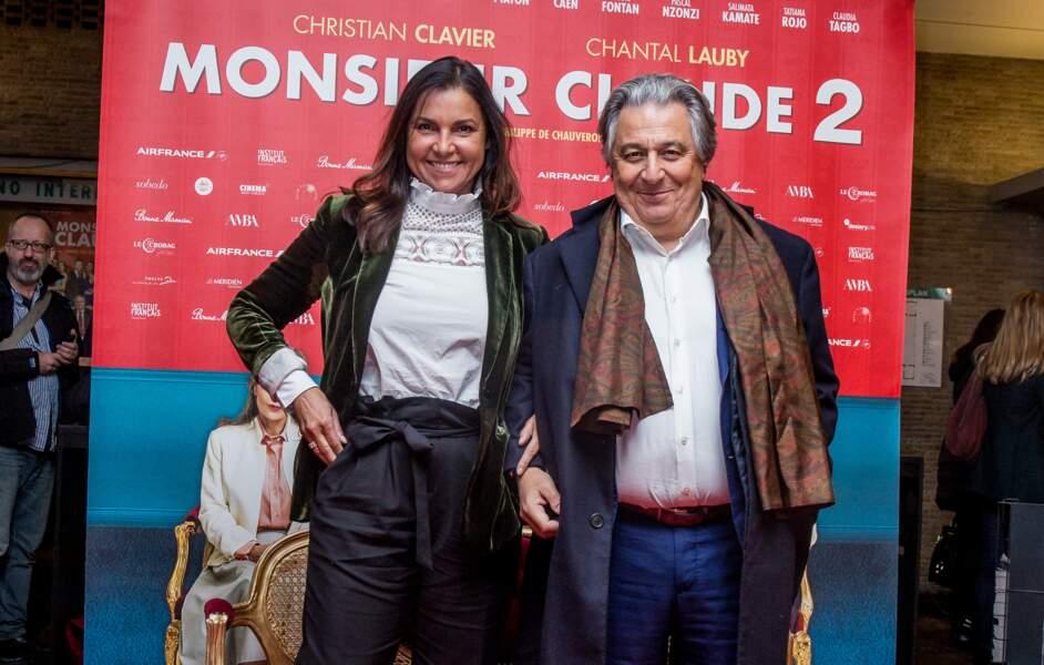 Entre Christian Clavier et Isabelle de Araujo, c'est une histoire qui dure