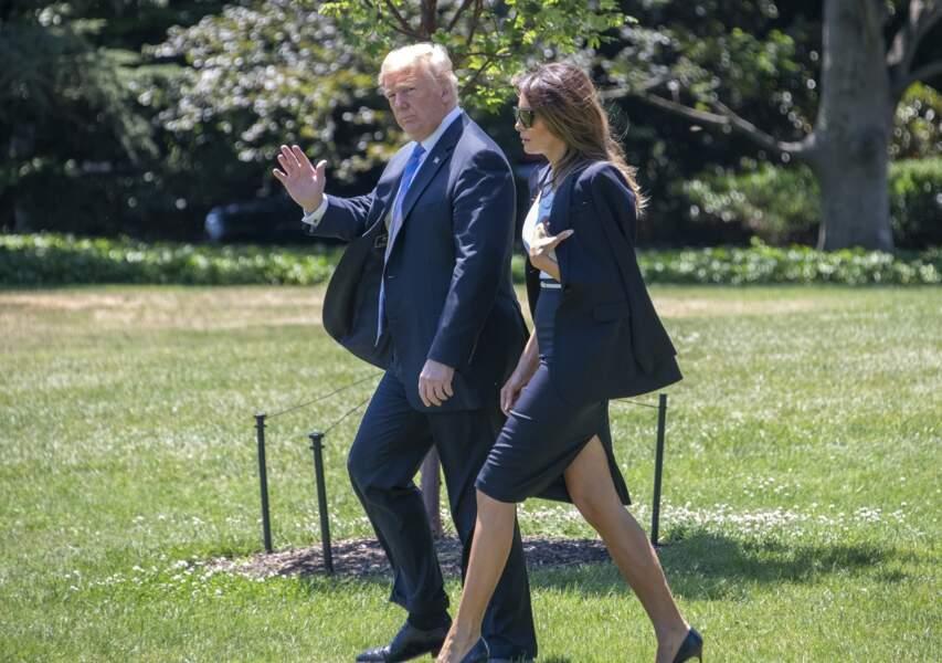 Le contact a cependant été rompu avant l'arrivée au sein de la Maison Blanche