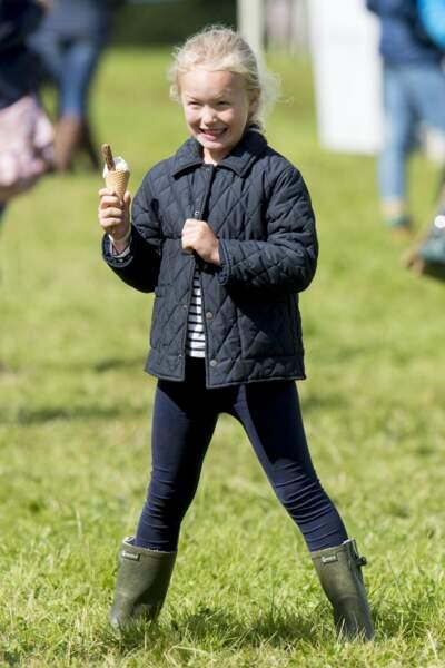 """Savannah Phillips assiste au """"Whatley Manor International Horse trials"""" à Gloucestershire le 9 septembre 2017"""