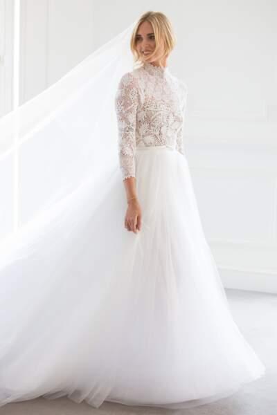 La magnifique robe de mariée signée Dior de Chiara Ferragni