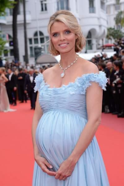 Sylvie Tellier attend son quatrième enfant à 40 ans.