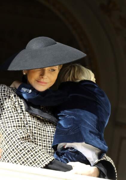 Charlène de Monaco, une maman très chic et caline avec son fils Jacques