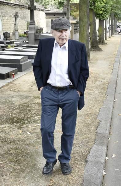 L'humoriste Popeck est venu dire un dernier au revoir à Claude Lanzmann lors de ses funérailles