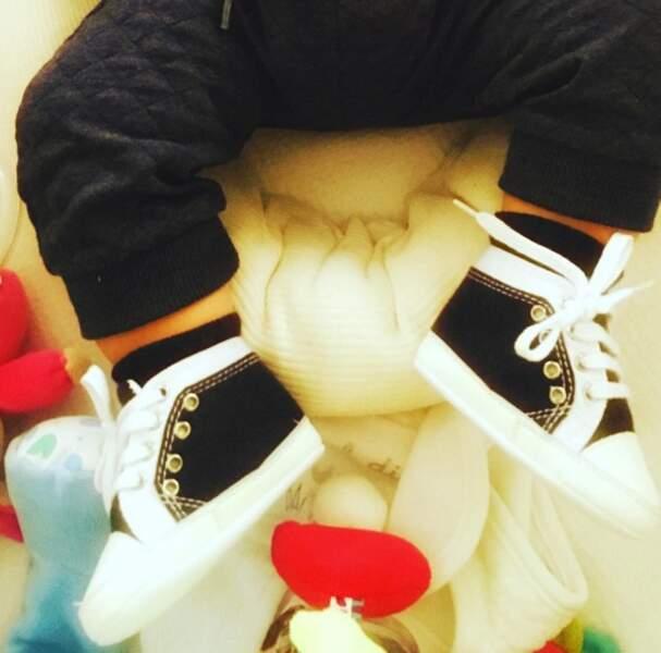 Les premières chaussures de Tom !