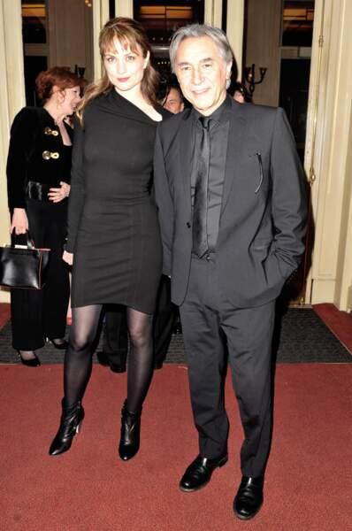 Richard Berry et sa compagne Pascale Louange au gala d'Enfance Majuscule en 2013