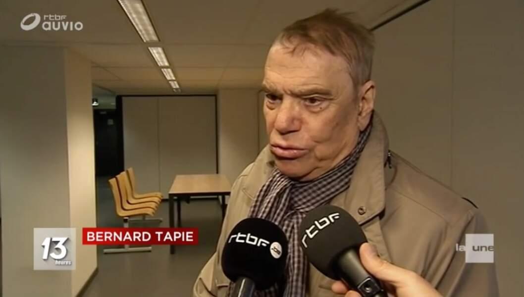 Bernard Tapie : 1e apparition depuis l'annonce de son cancer