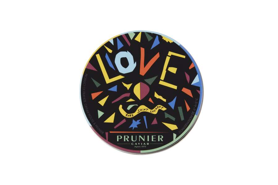 Caviar Prunier Love 2016, Yves Saint Laurent, 270€ les 125g
