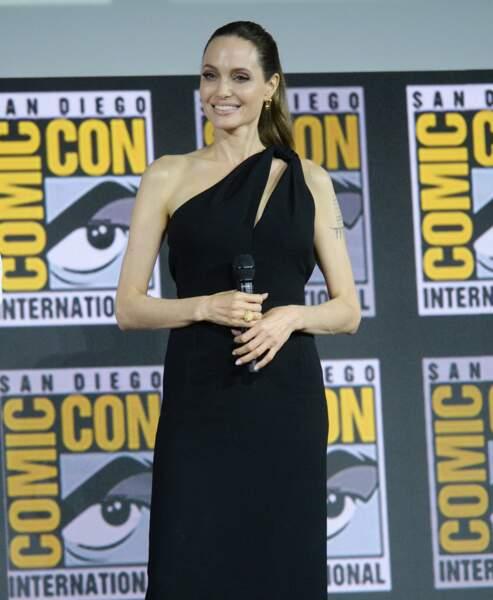 Angelina Jolie lors du comic con de San Diego, le samedi 20 juillet 2019
