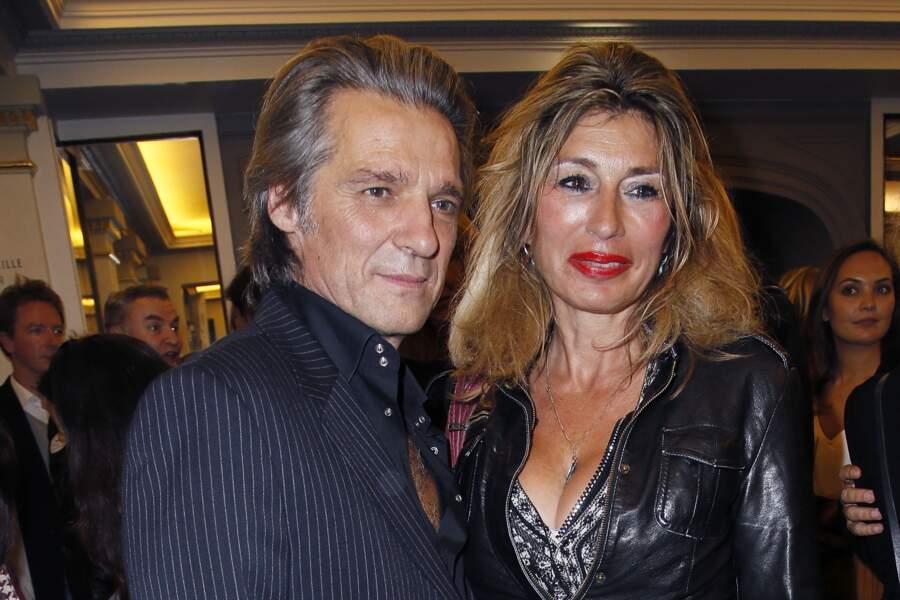 Yvan Le Bolloc'h et sa femme Noushka