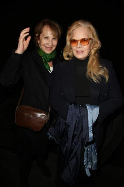 Nathalie Baye et Sylvie Vartan lors de la soirée en l'honneur de Danielle Darrieux