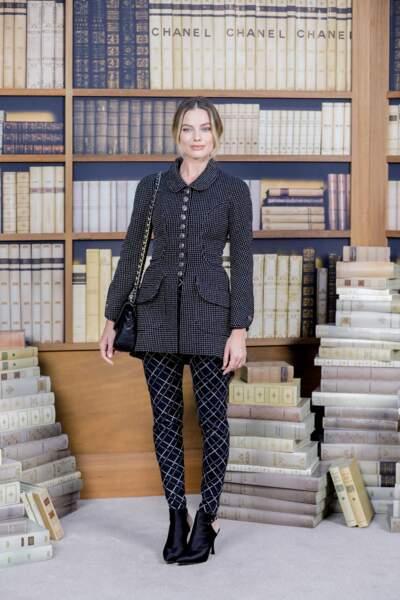 Margot Robbie, la toute nouvelle égérie Chanel était bien sûr présente
