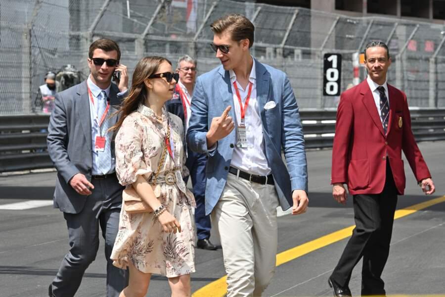 La fille de Caroline de Monaco a officialisé sa relation lors du bal de la rose en 2018