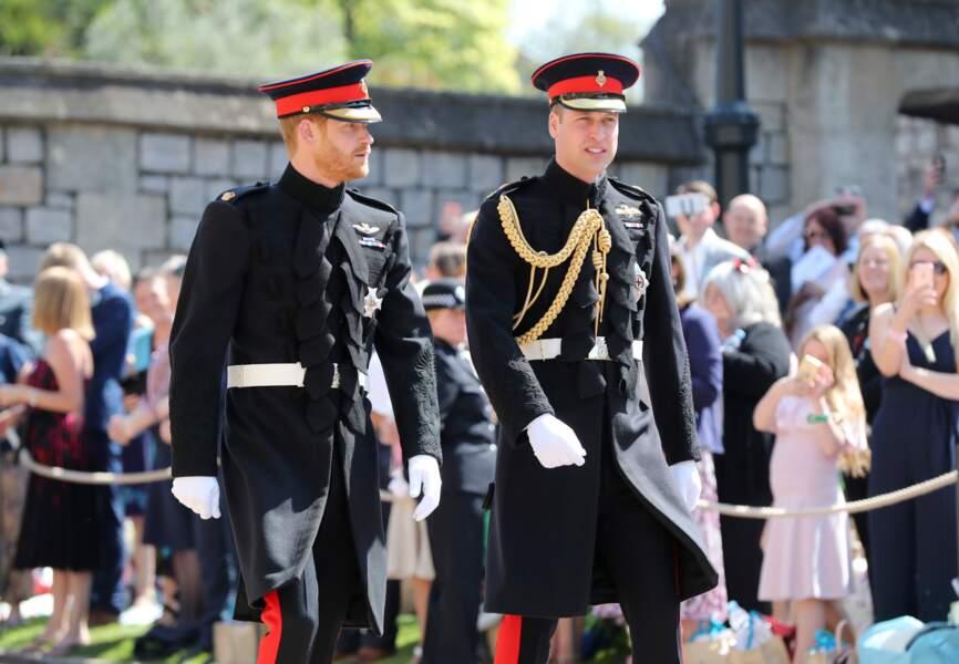 Les princes William et Harry à Windsor