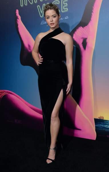 Sasha Pieterse à Hollywood en décembre 2014