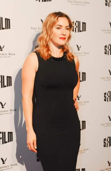 Kate Winslet lors d'une cérémonie au Fine Arts Theatre à San Francisco, le 5 décembre 2017