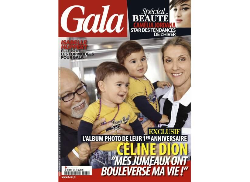 """Céline Dion """"Mes jumeaux ont bouleversé ma vie !"""""""