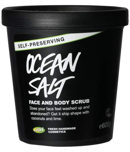 Exfoliant corps et visage Ocean Salt, Lush, 12,95€