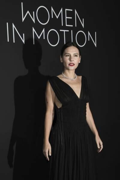 "Virginie Ledoyen à la soirée ""Women in motion"""