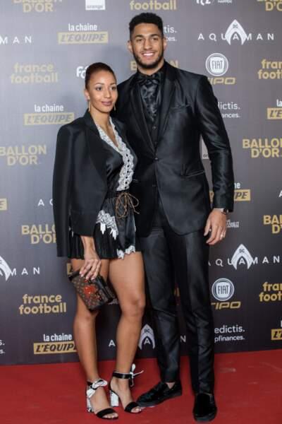Tony Yoka et sa femme Estelle Mossely