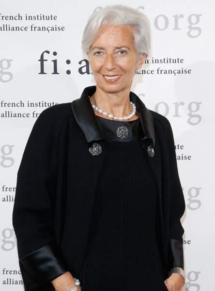 Christine Lagarde est adepte du blanc depuis de nombreuses années