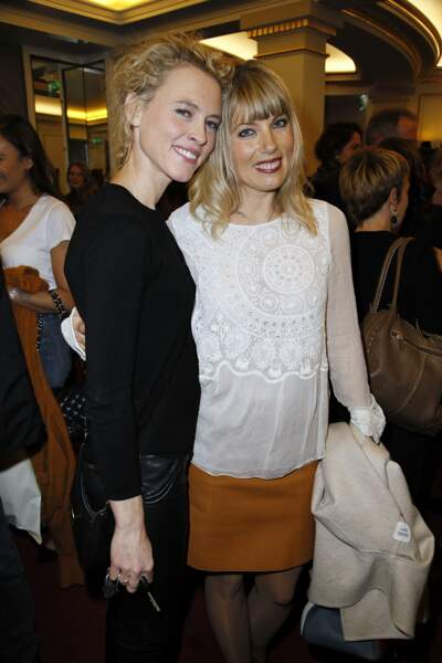 Mathilde Penin et Mélanie Page